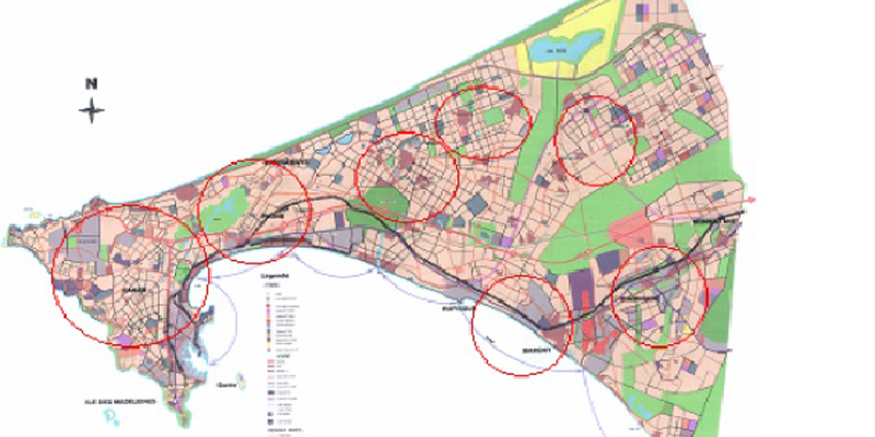 800 400 Project for the design of a master plan and urban hydraulics database