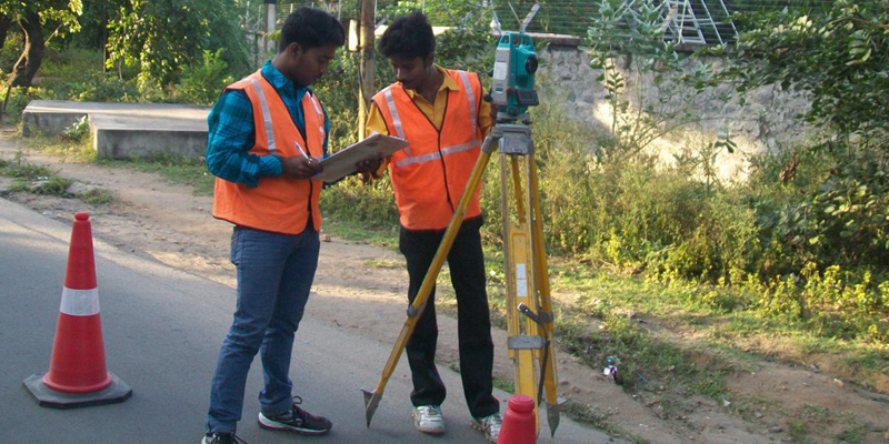 Engineering Survey for a Water Pipeline in Bihar India 800 400