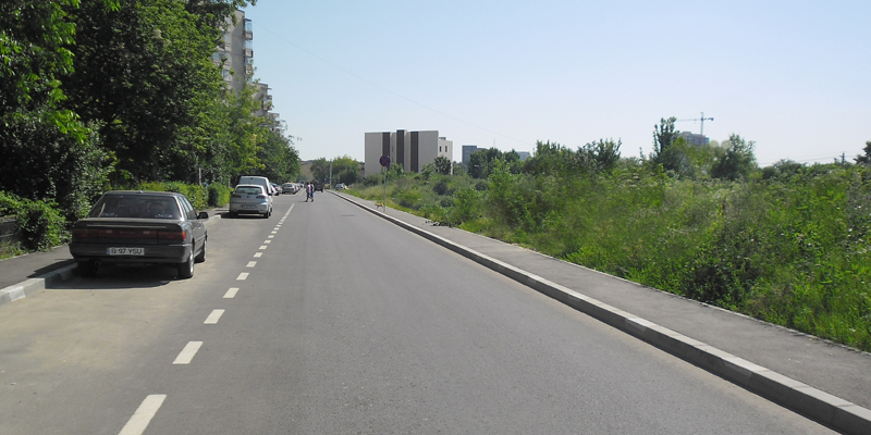 bucharest road network 800 400