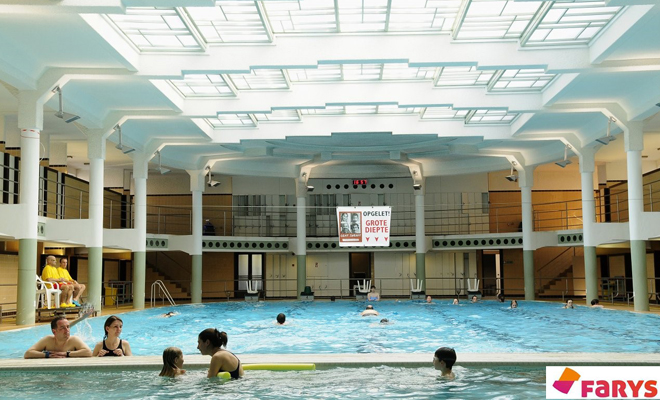 fusion swiming pools in Ghent